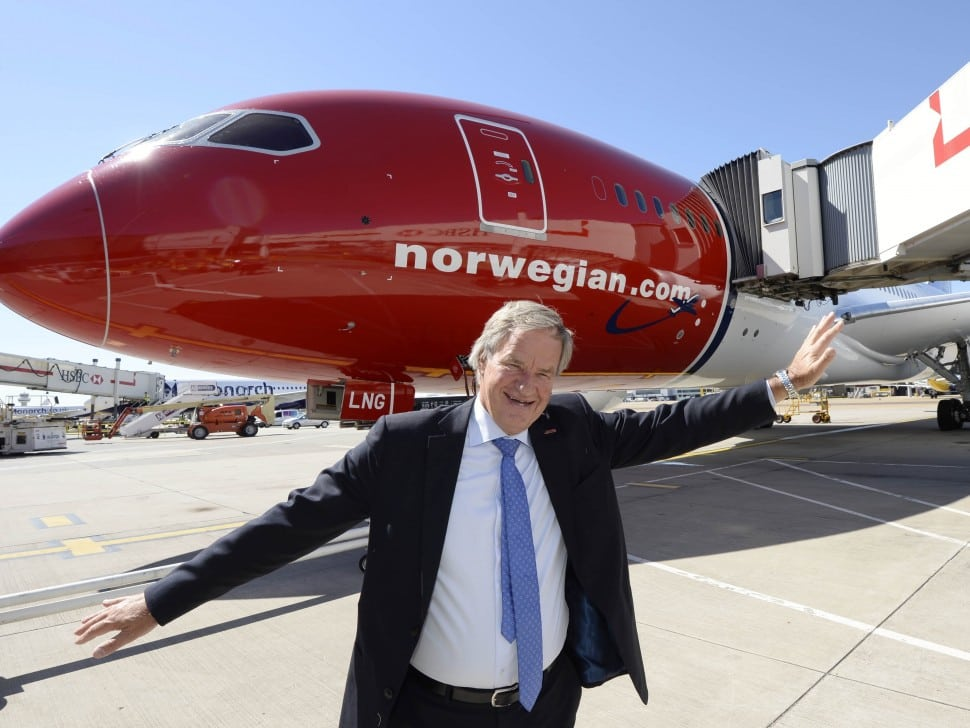 Virgin Atlantic CEO Already Sees Low-Cost Norwegian Air Hurting U.S. Fares